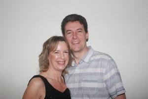 Wendy with husband Ian